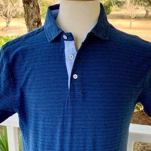 Rodd & Gunn sports Fit Striped Polo Shirt. Medium
